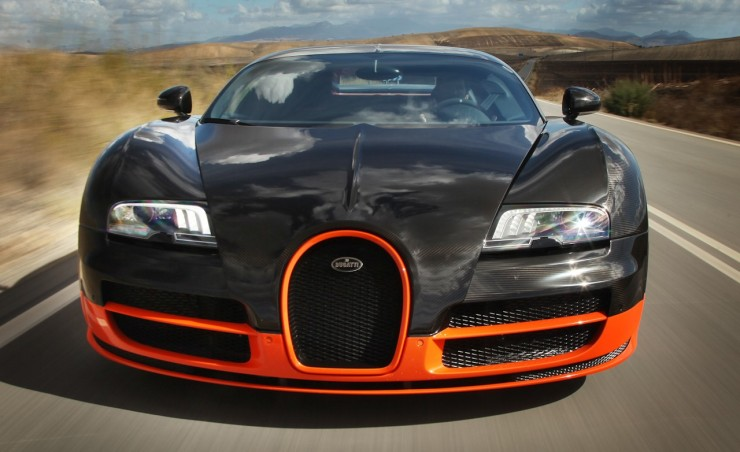2011 Bugatti Veyron 16.4 Super Sport Front View
